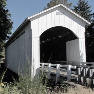 Mosby Bridge Cottage Grove Oregon
