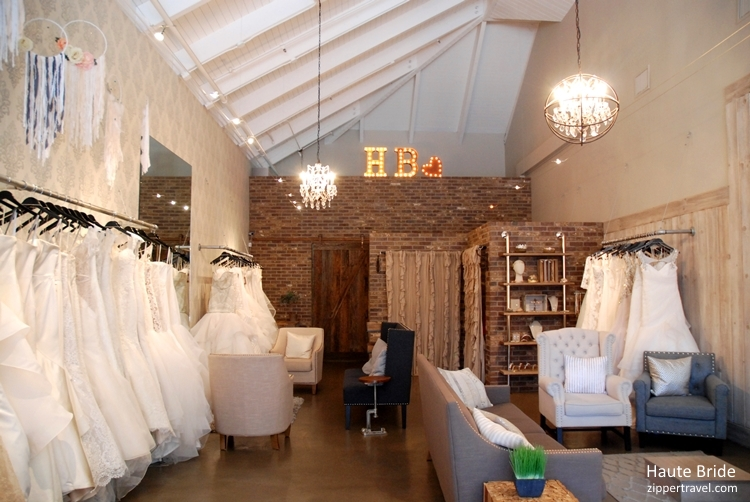 Wedding Haute Bride interior Los Gatos California