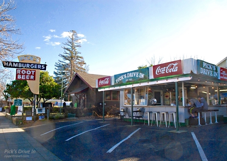 Pick's Drive In Cloverdale California