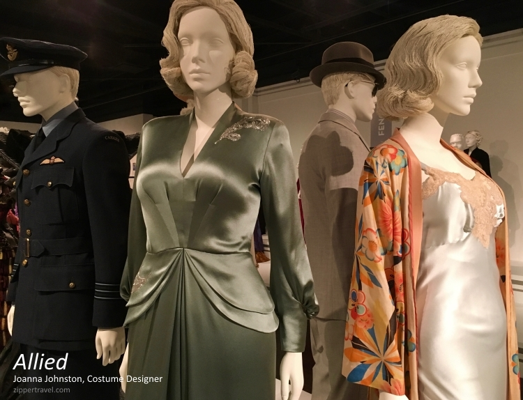 Allied costumes designer Joanna Johnston FIDM