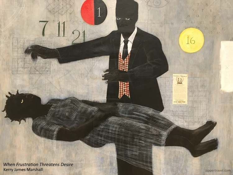 When Frustration Threatens Desire Kerry James Marshall MOCA Los Angeles