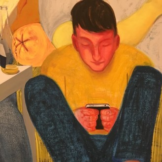 Nicole Eisenman Another Green World detail MOCA Los Angeles
