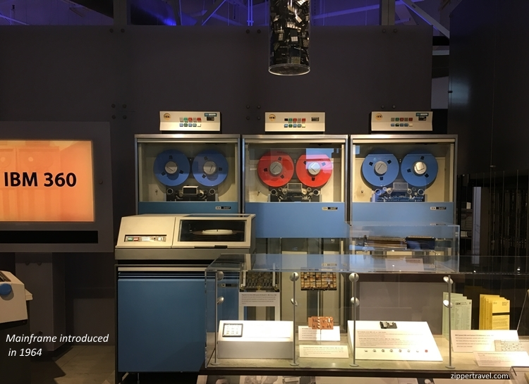 IBM 360 Computer History Museum Mountain View CA