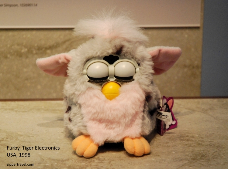 Furby 1998 Computer History Museum Mountain View CA