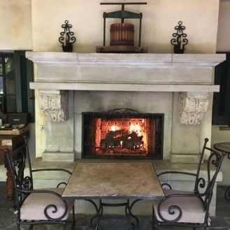 Kenwood Inn Spa Central Court Fireplace Sonoma's Best Pools