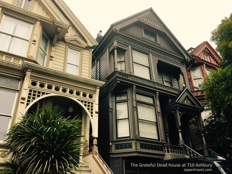 Grateful Dead house 710 Ashbury Street summer of love revisited