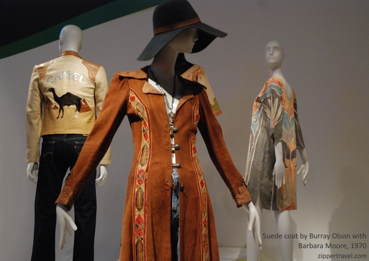 Camel jacket suede coat summer of love revisited deYoung Museum