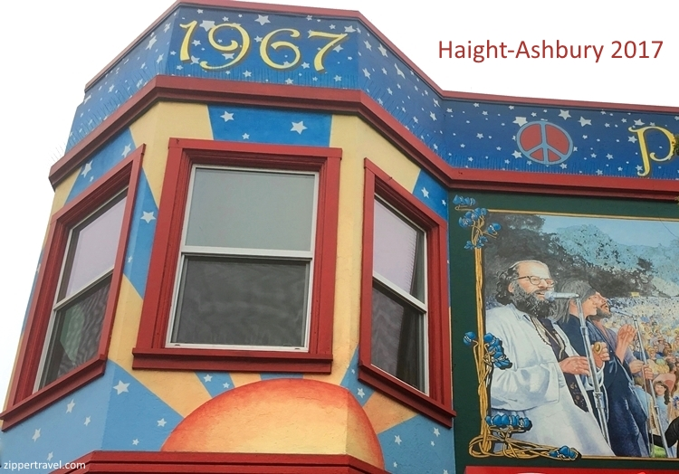 Allen Ginsberg mural Haight Ashbury summer of love revisited