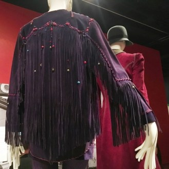 Purple fringe jacket summer of love revisited deYoung Museum