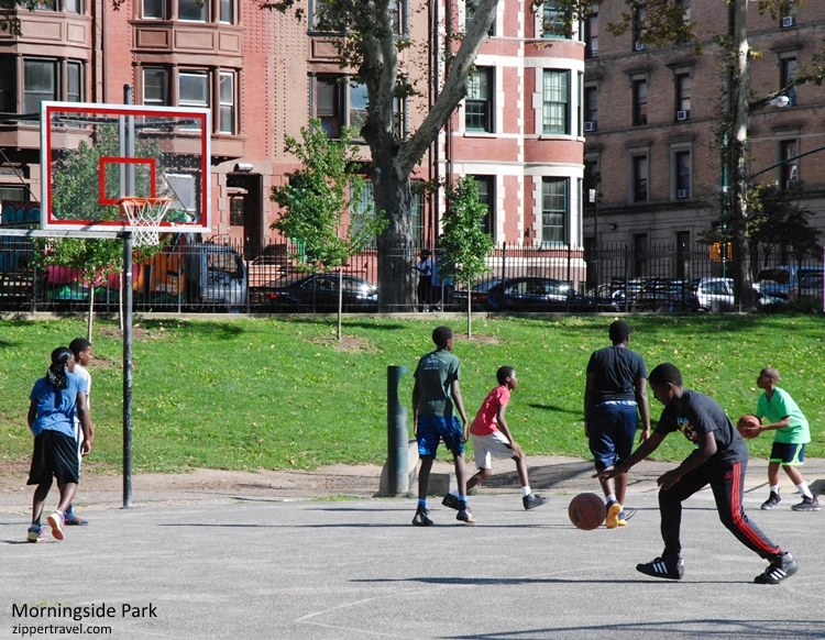 Morningside Park Basketball court Harlem