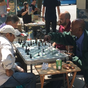 Chess Game Upper West Side
