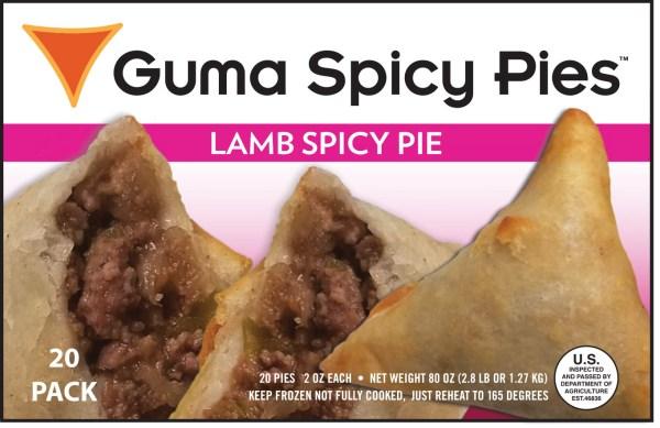 lamb spicy pie