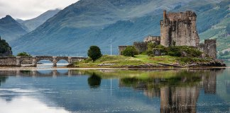 Want to stay near a castle? Visit Scotland!