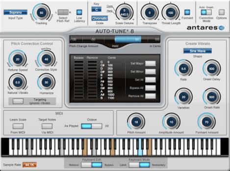 Antares AutoTune 8.1 Crack