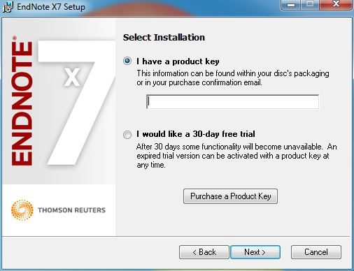 crack endnote x7 serial number
