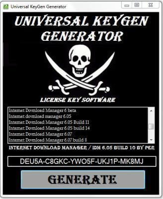Universal Keygen Generator 2021