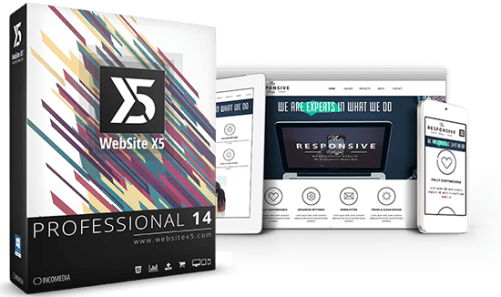 WebSite X5 Profesional 14.4 Crack