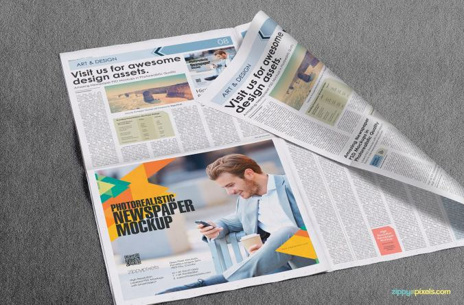 Image result for How to design a readable ad in newspapers