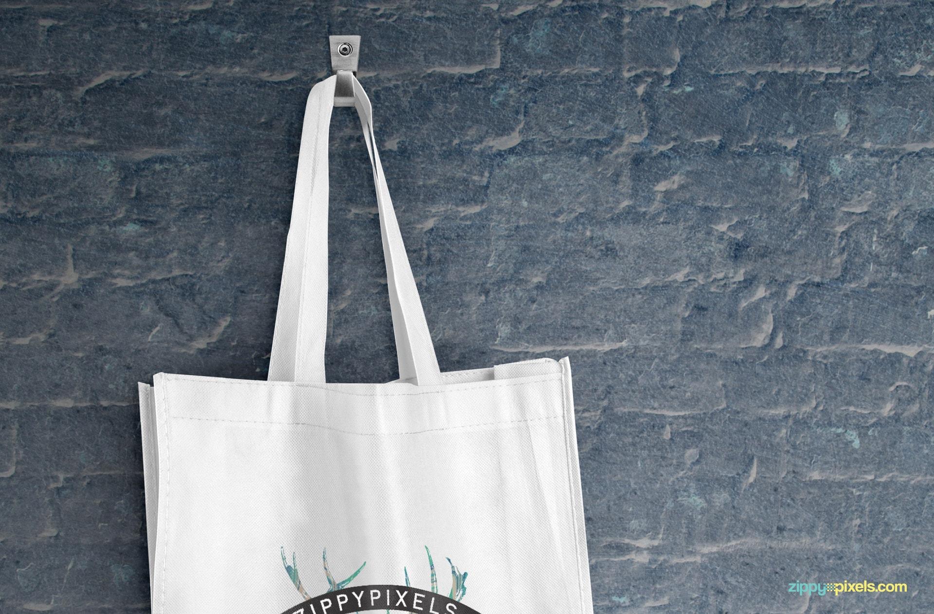 Download canvas tote bag mockup psd. Tote Bag Mockups Free Psd Download Zippypixels