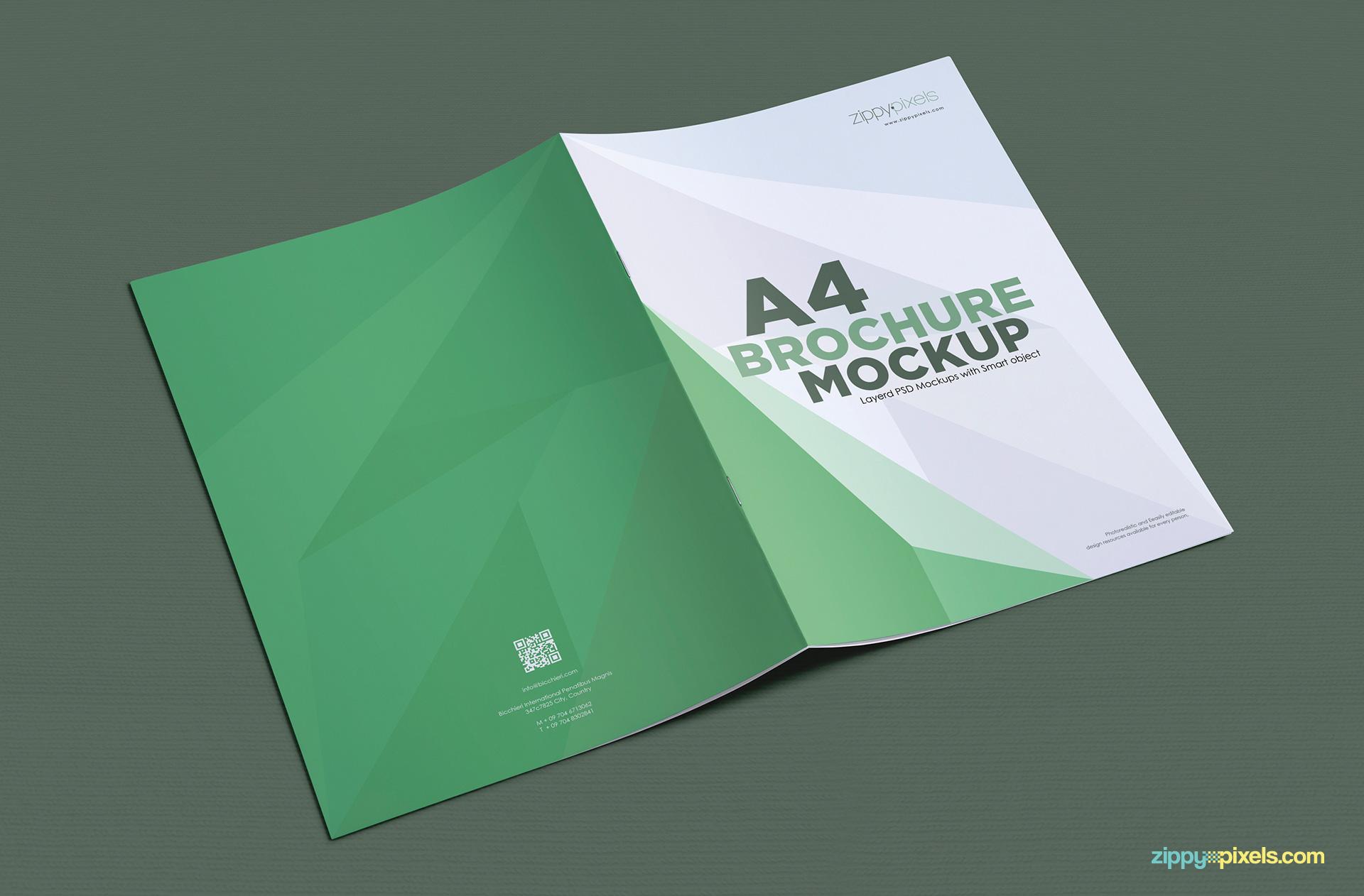 6000+ vectors, stock photos & psd files. A4 Brochure Mockup Free Psd Download Zippypixels