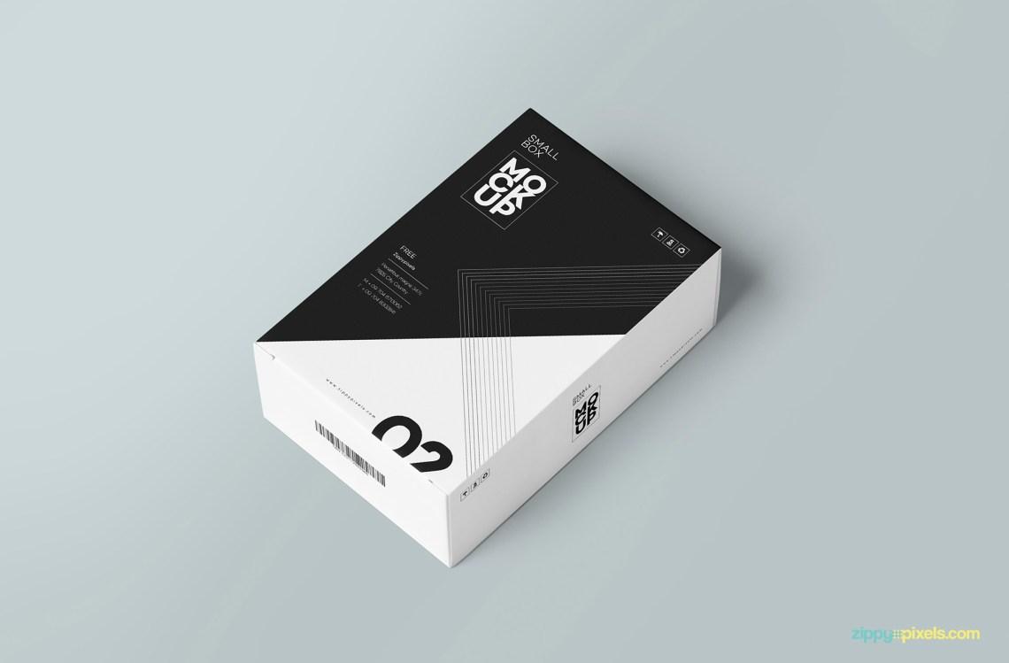Download Free Customizable Card Box Mockup | ZippyPixels