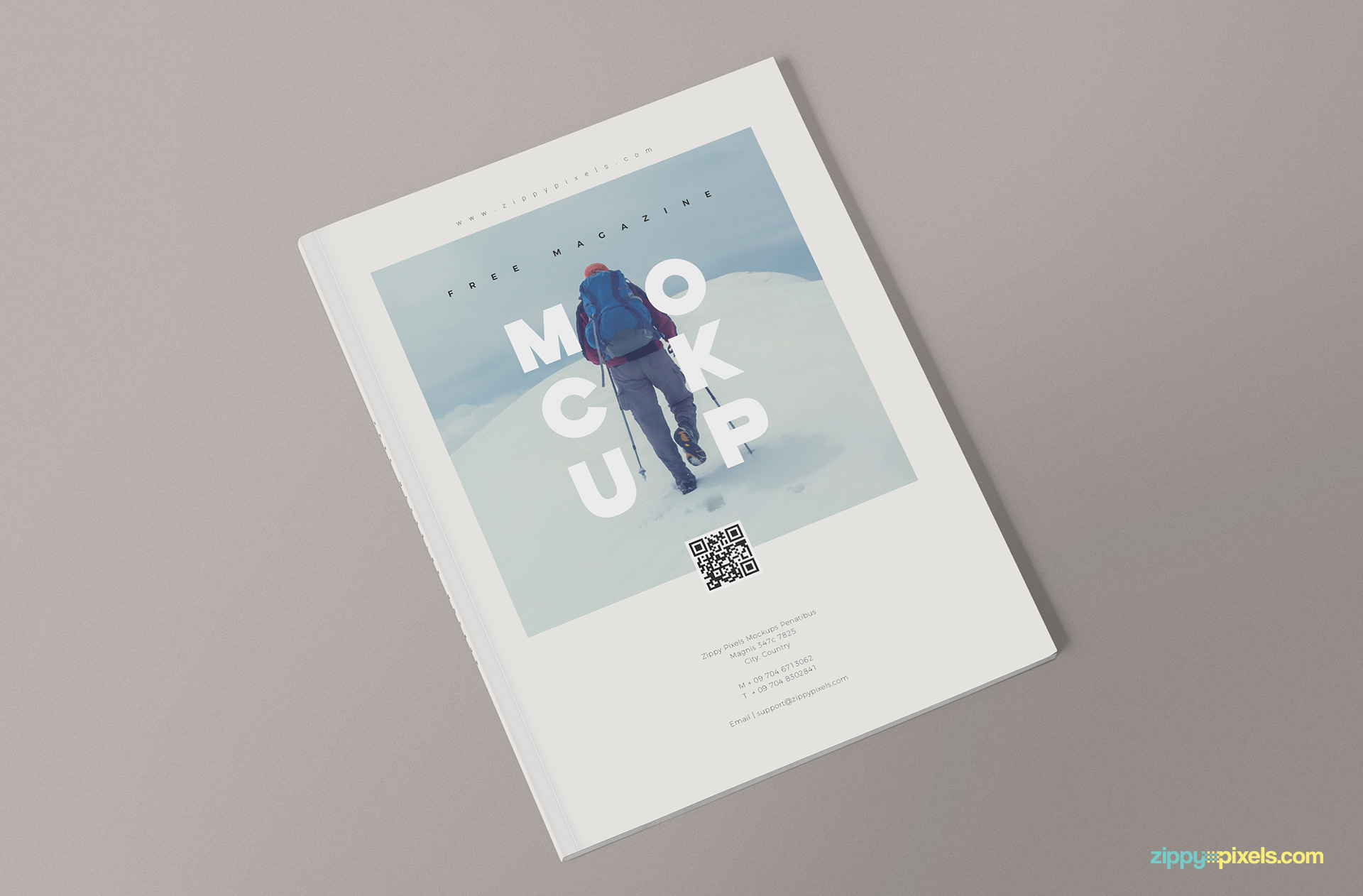 3 Free Magazine Mockup Templates  ZippyPixels