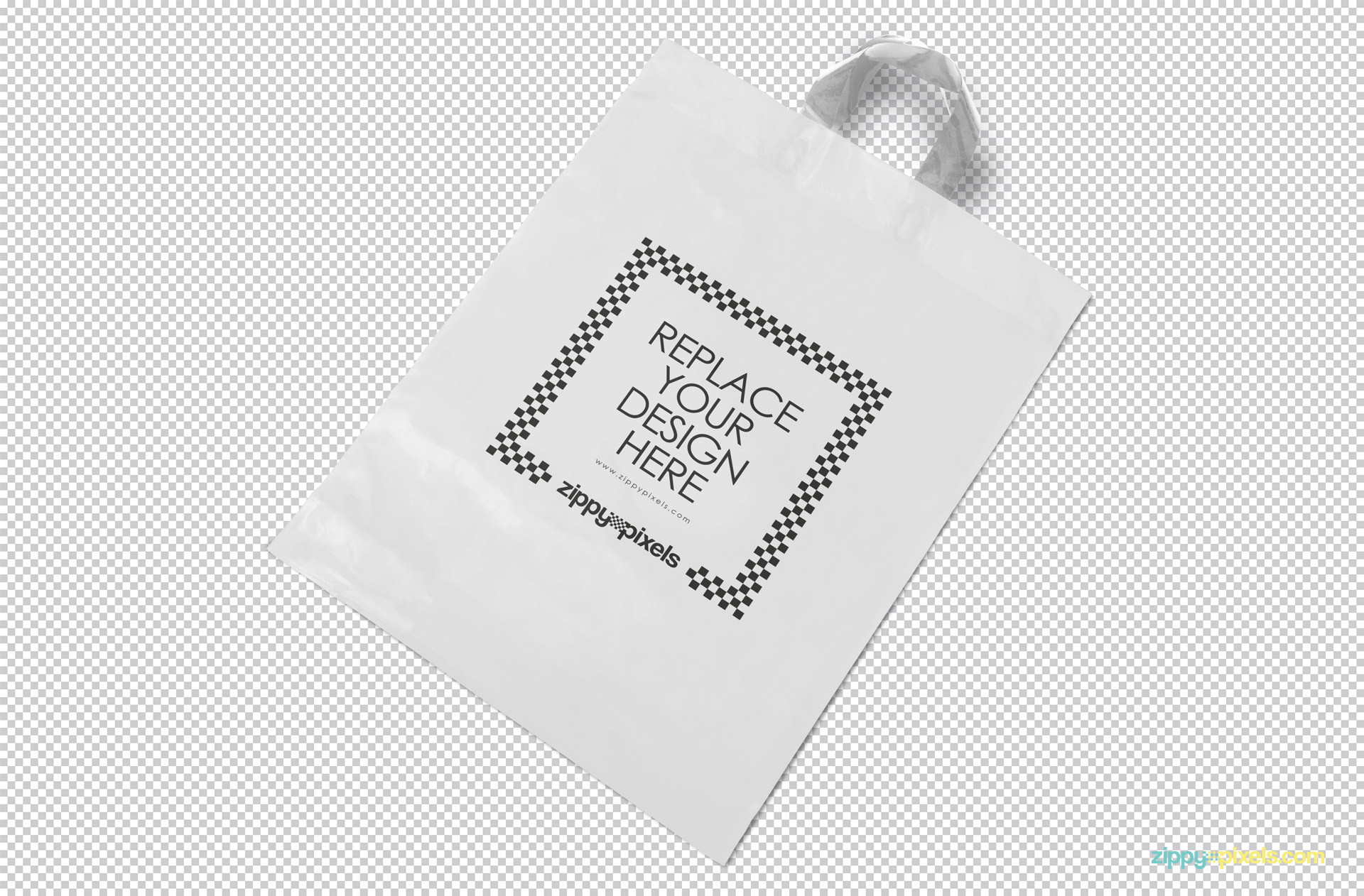 Your label design will stand out like a pro with this free mockup. Polythene Shopping Bag Mockup Free Psd Zippypixels