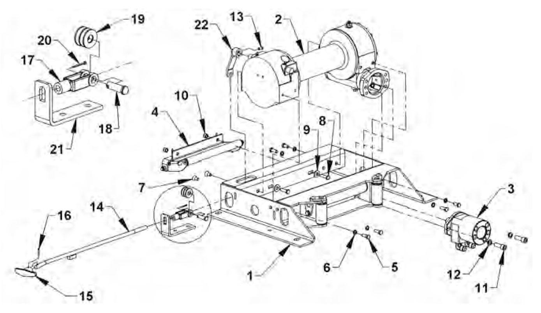 hight resolution of ramsey hydraulic winch parts diagram wiring diagram usedhydraulic winch diagram 16