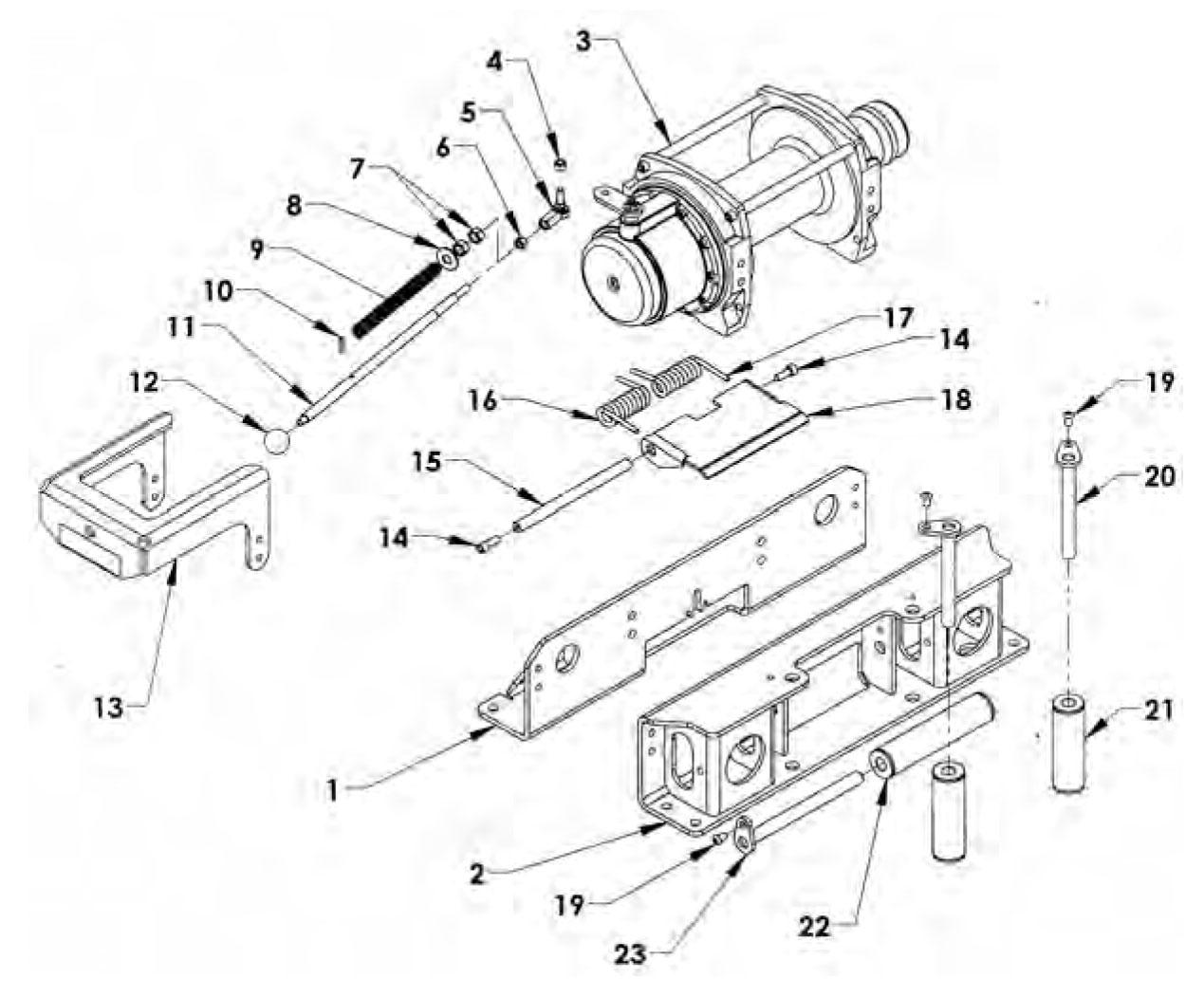 warn winch wiring diagram xd9000i label the eye answers rocker switch free download daystar