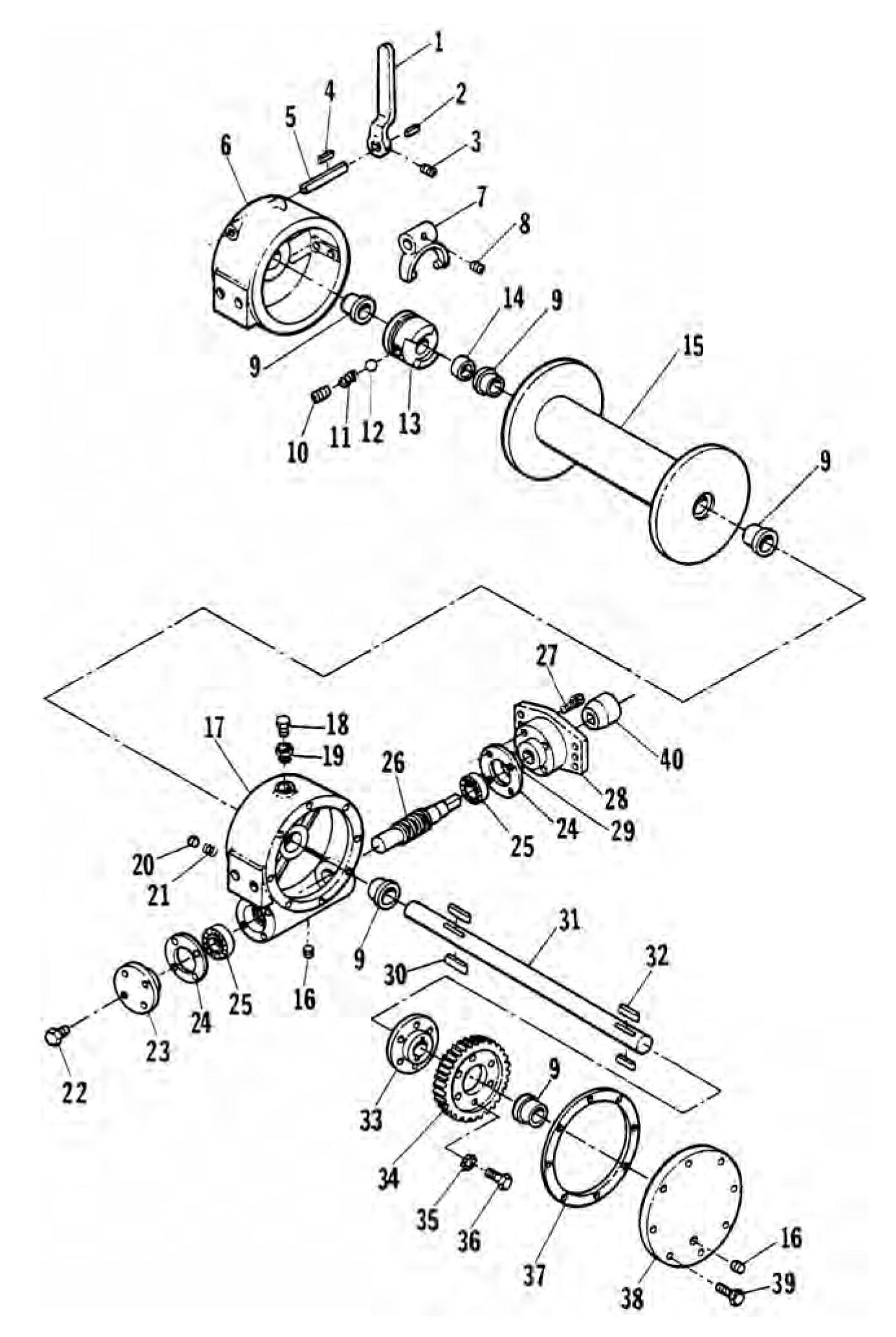 medium resolution of ramsey hydraulic winch parts diagram wiring library ramsey winch schematics 712 hydraulic winch assembly ramsey hydraulic