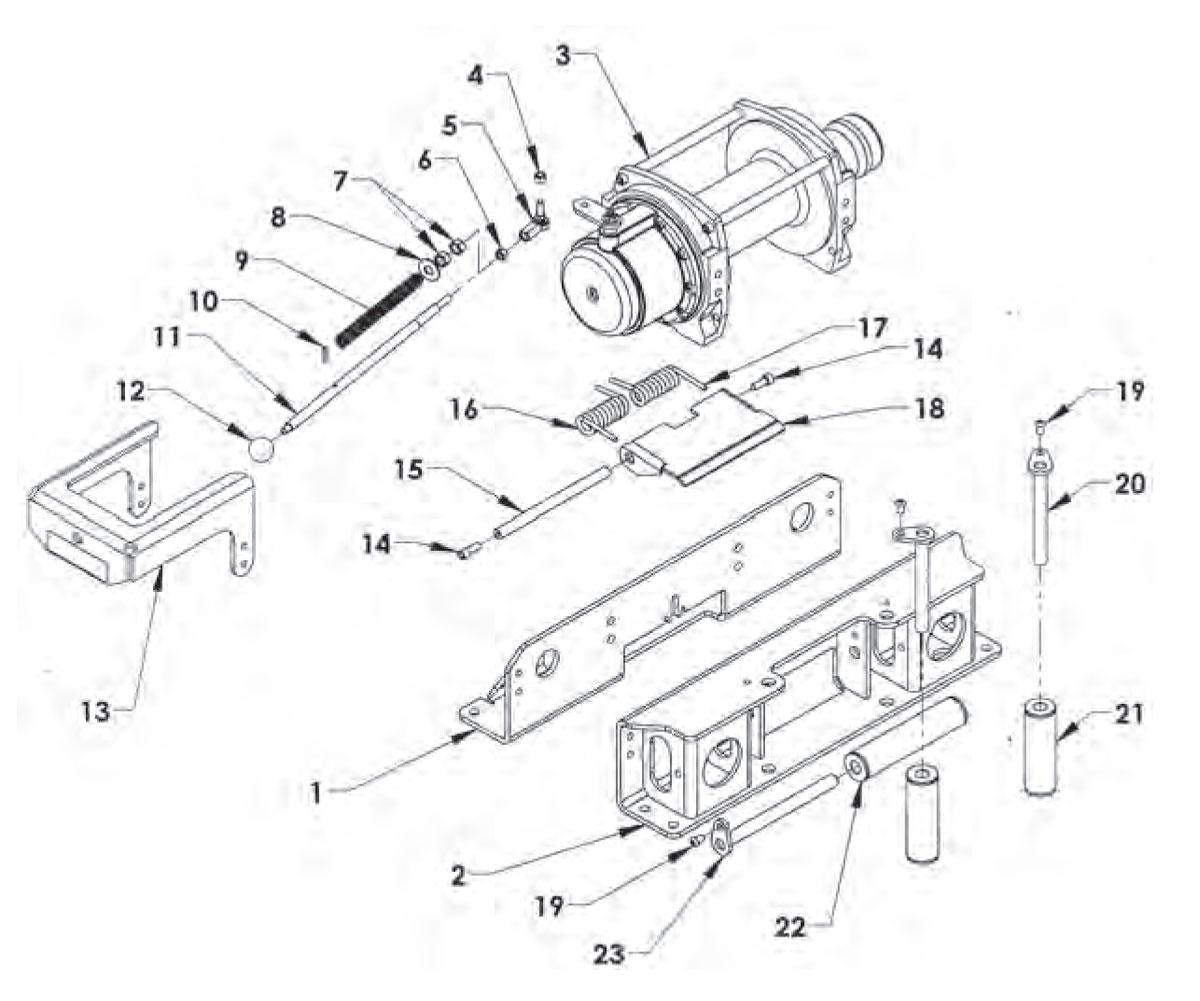 warn 13917 soft winch cover xd9000i m8000 m6000 9 5si 9 5ti hs9500 tabor 9k tarp brand new 1 product  [ 1200 x 1001 Pixel ]