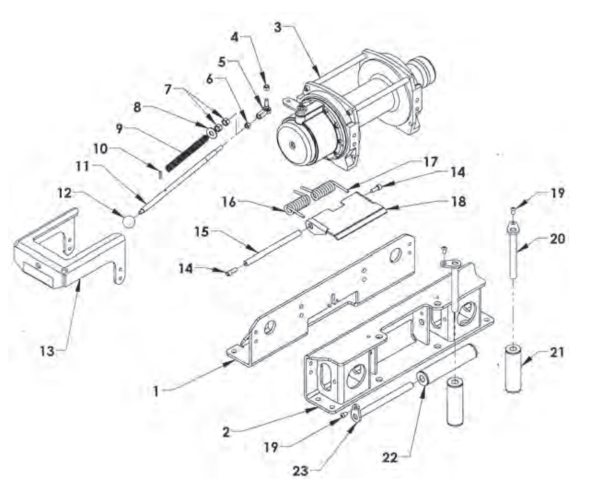 hight resolution of warn winch manual free spoolwarn winch schematic 13