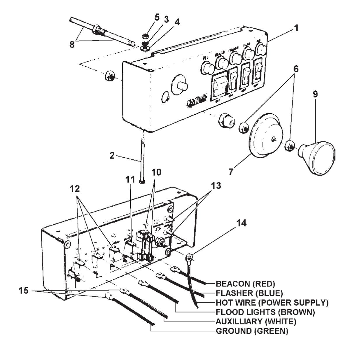 global electric motorcars wiring diagrams [ 1200 x 1186 Pixel ]