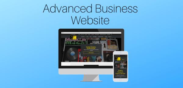 Advanced Business Website
