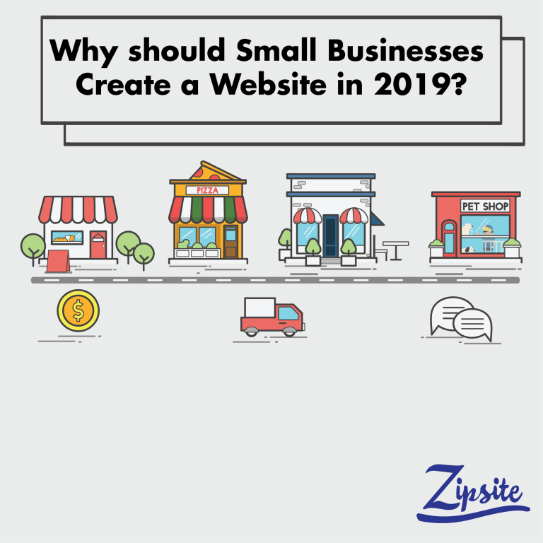 Why Should Small Businesses Create A Website In 2019?