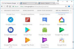 Google Chrome 68