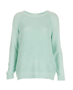 TopShop Lightweight Mint Sweater