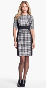 Michael Kors Houndstooth Dress NAS