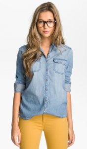 Rubbish Chambray Shirt