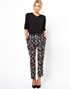 trousers crop top