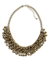 h&m metal statement necklace