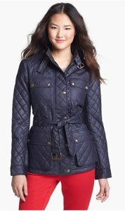 Michael Kors Quilted Field Jacket NAS