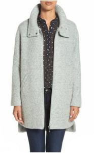 nordstrom berardo mint coat