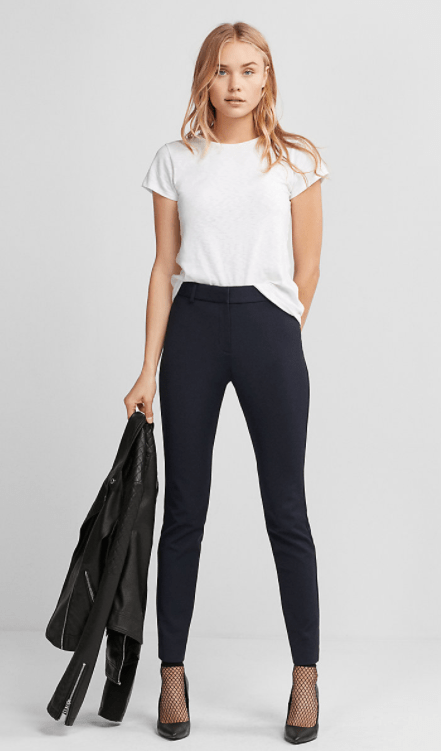 Express high waisted skinny pants