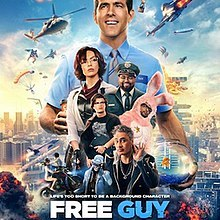 Following a year-long delay due to the COVID-19 pandemic, Free Guy was theatrically released in the United States on August 13, 2021, in RealD 3D, IMAX and Dolby Cinema by 20th Century Studios. The film received generally positive reviews from critics, who praised the clever concept and compared it favorably as a combination of Ready Player One, The Truman Show, The Matrix, and Grand Theft Auto.