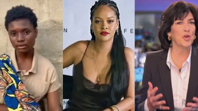 """""""Please tell me it's a dream'- Salle Move to Tears as Rihanna Link her up with CNN'S Christiane Amampour for interview (Video)"""