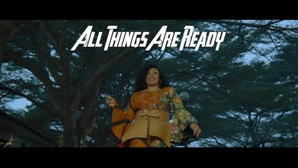 Sinach All Things Are Ready video