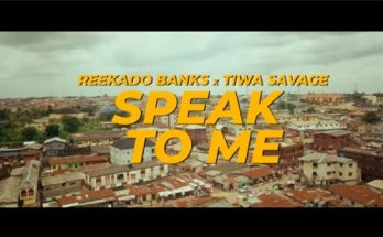 Reekado Banks Speak To Me video