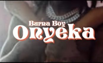 Burna Boy - Onyeka Video