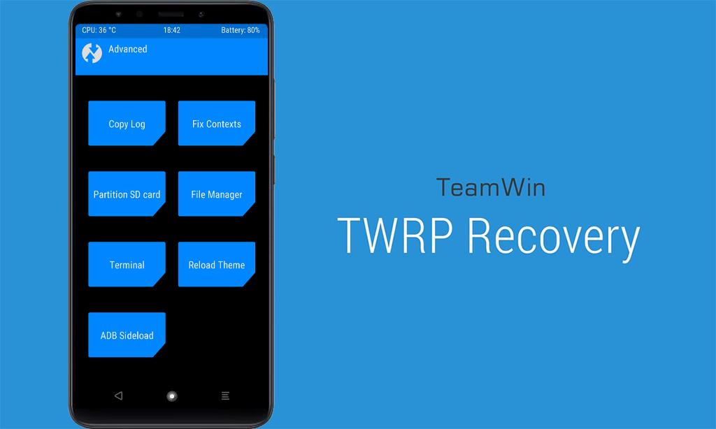 Установка TWRP на Xiaomi Redmi Note 5 Pro